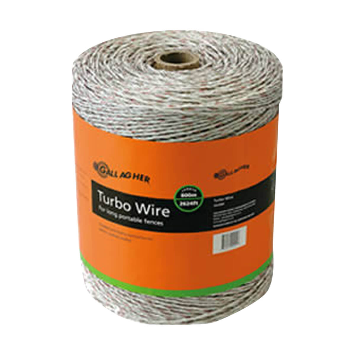 Gallagher Turbo Wire - White - 200 m