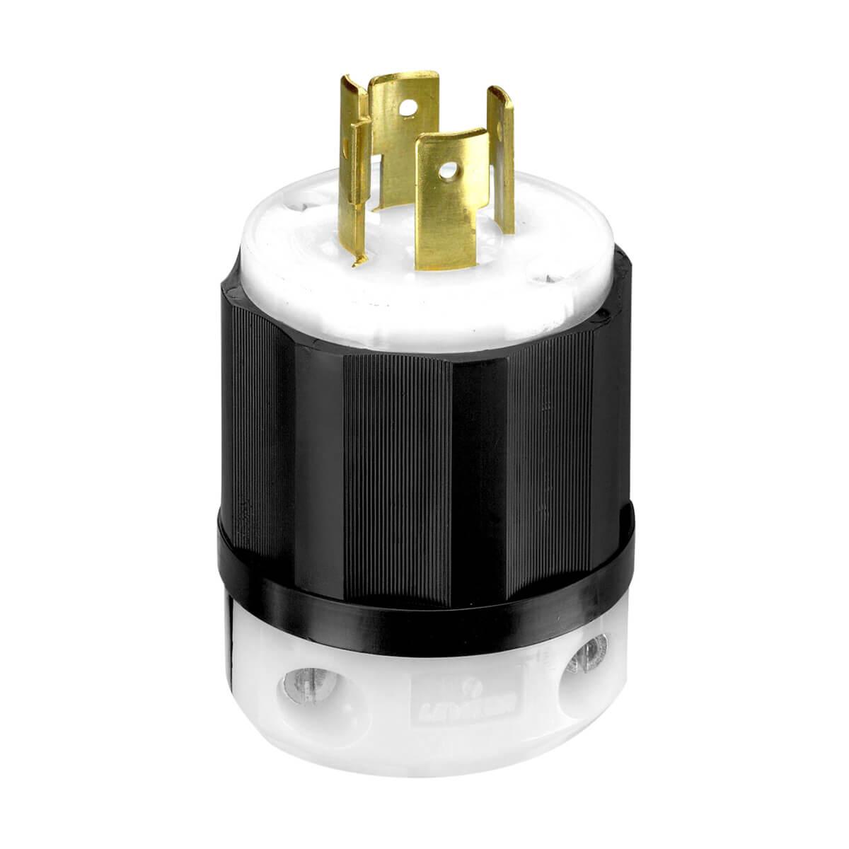 Leviton Locking Plug- 20A 125/250V