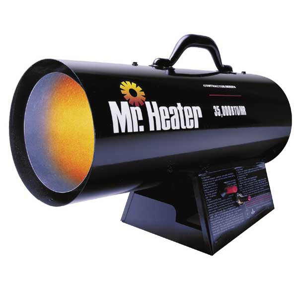 Mr. Heater Portable Forced Air Propane Heater 35,000 BTU/HR