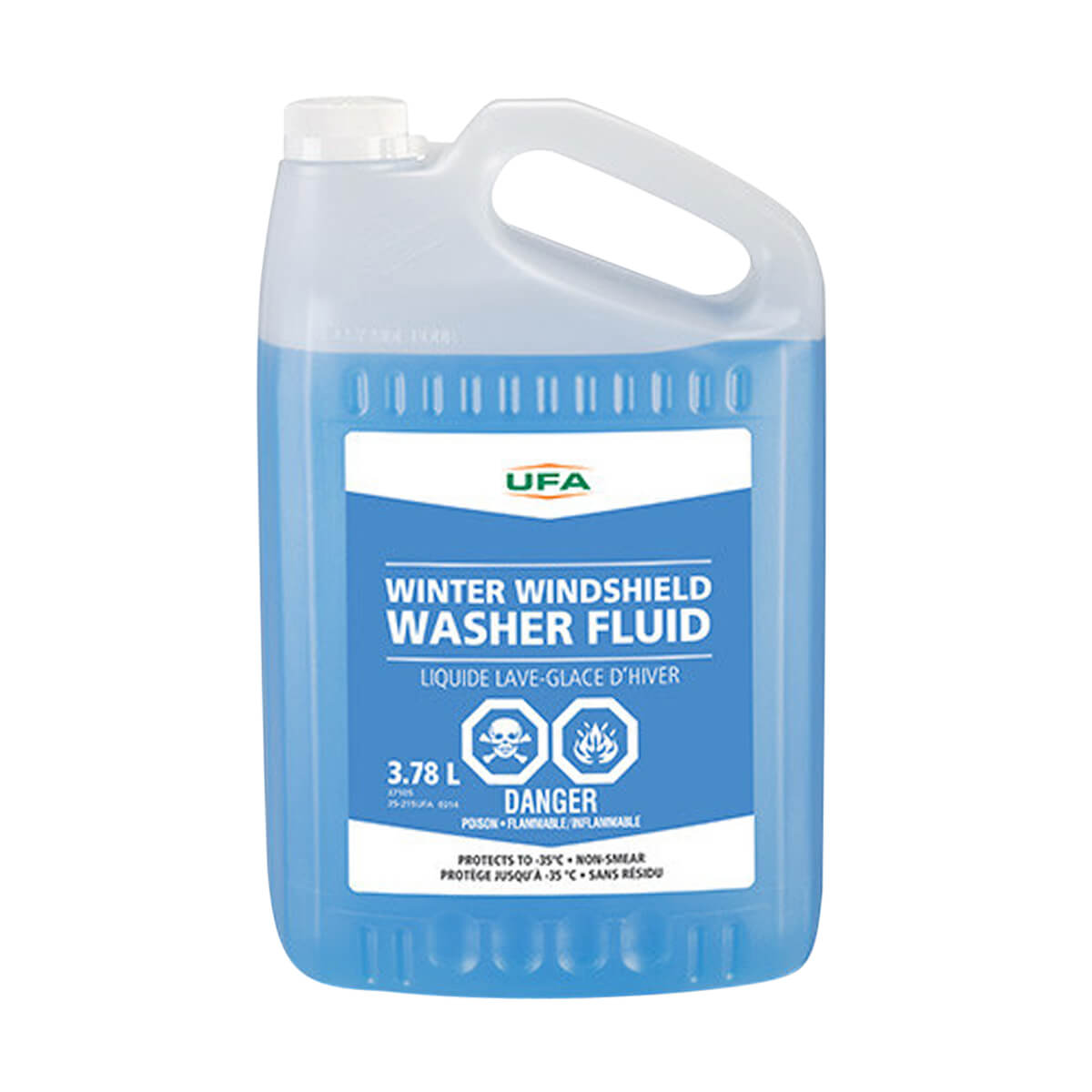 Winter Windshield Washer Fluid - 3.78 L