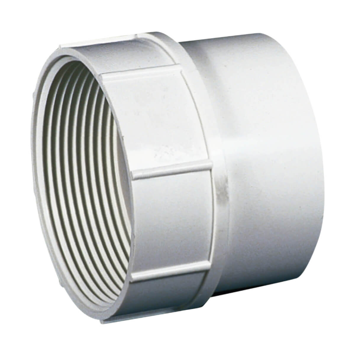 PVC-BDS Cleanout Adapter - Spigot x FPT - 4-in