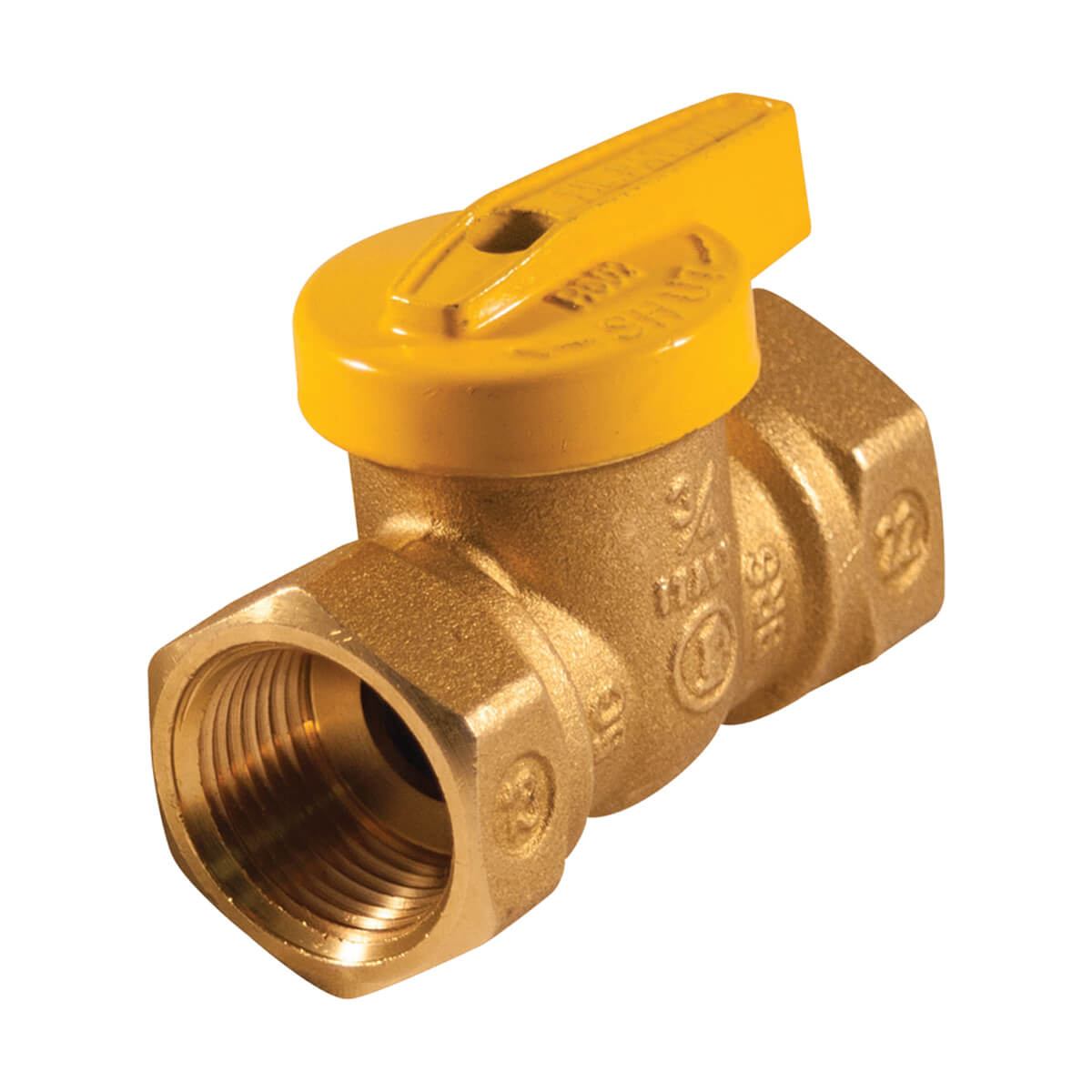 Gas Ball Valve - One-Piece Body - 1/2-in