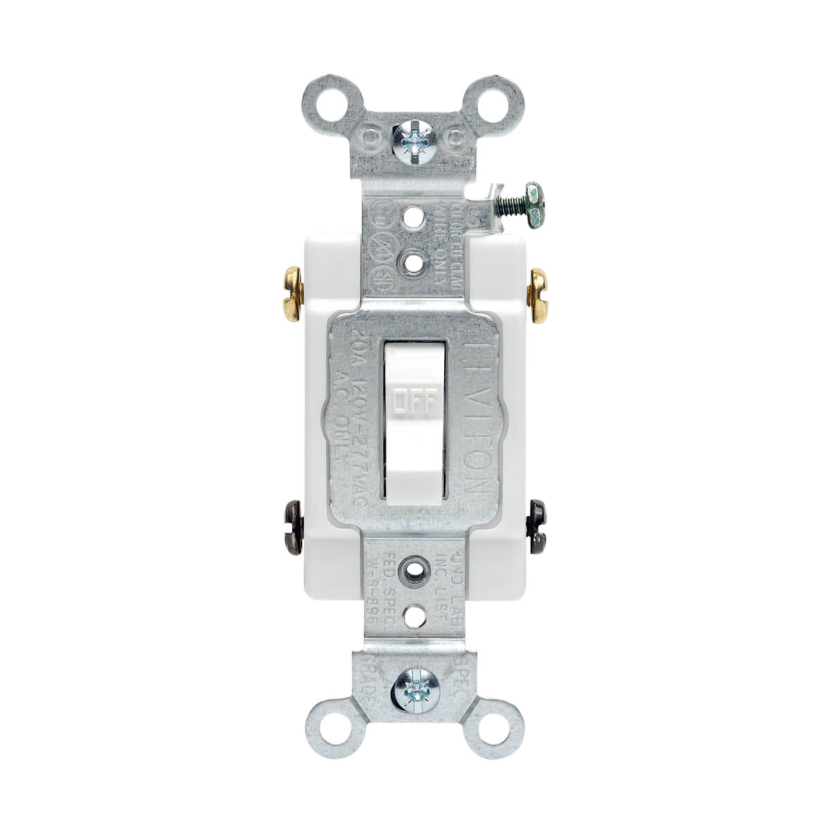 Toggle Double-Pole AC Quiet Switch