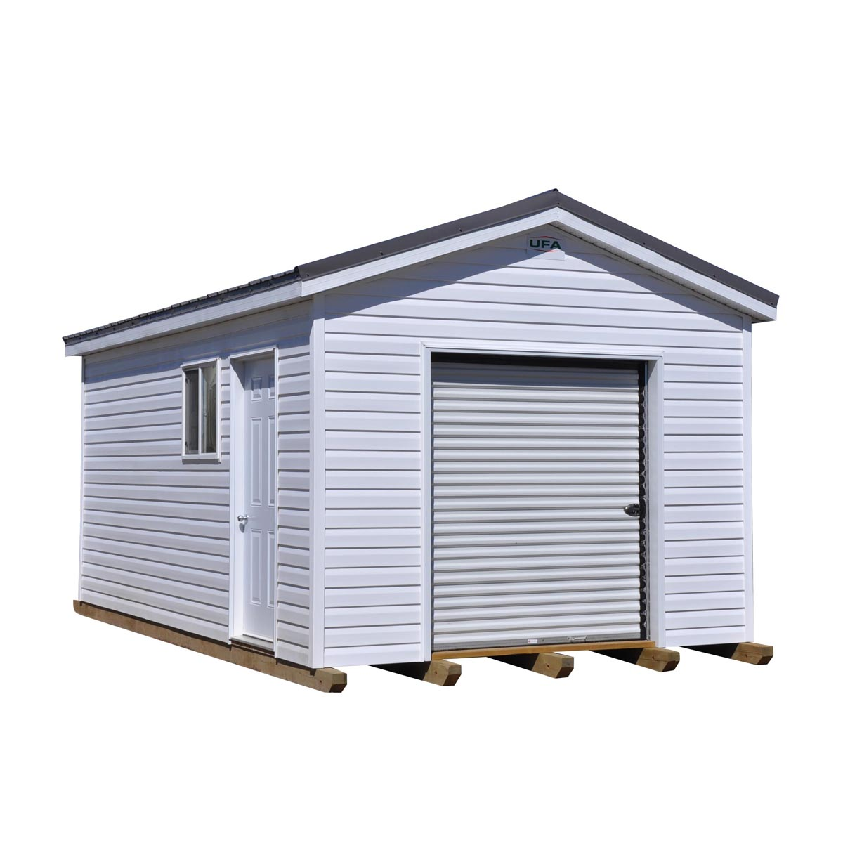 Super Shed 12'x20' with White Siding
