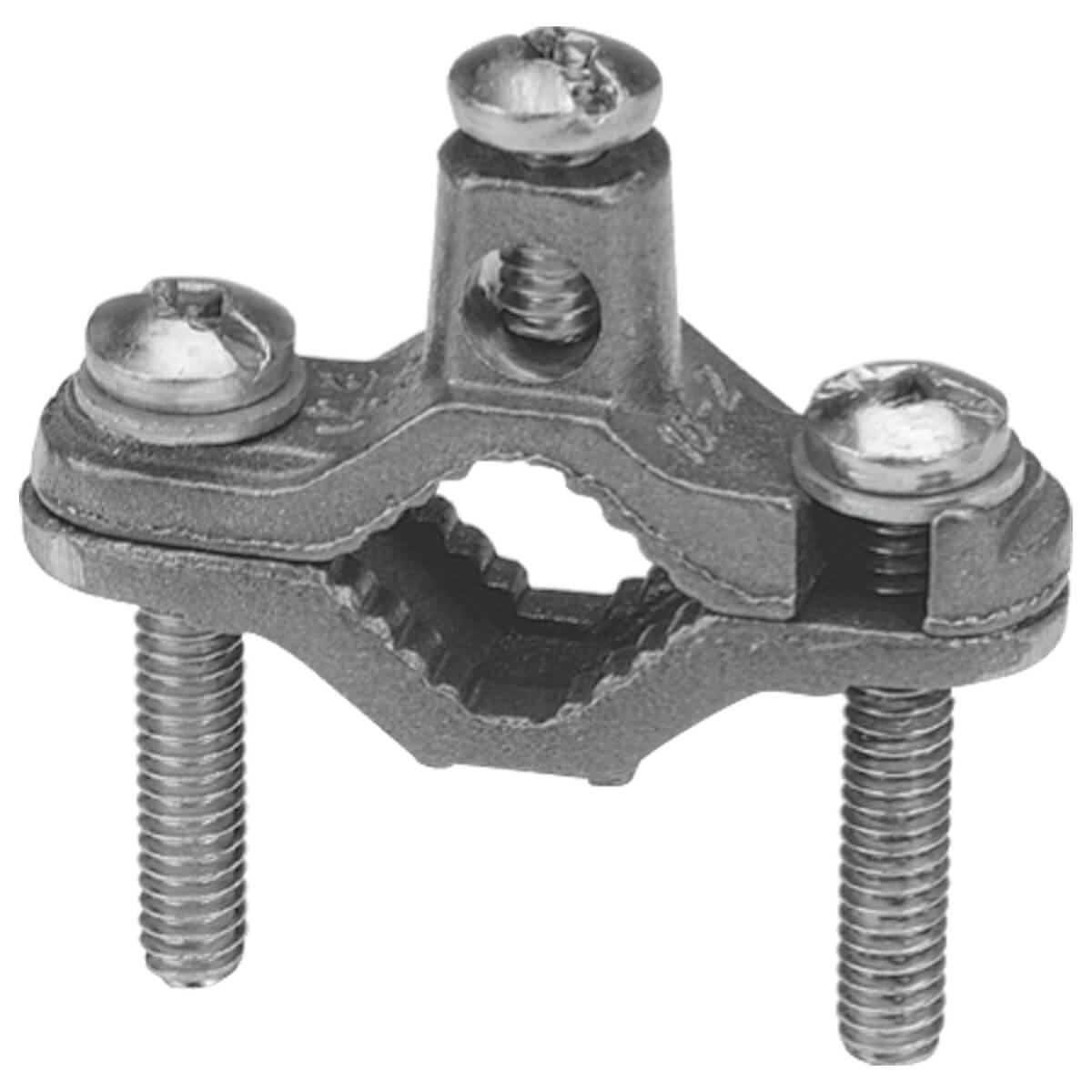 Copper Ground Clamp  - 1/2-in to 1-in pipe
