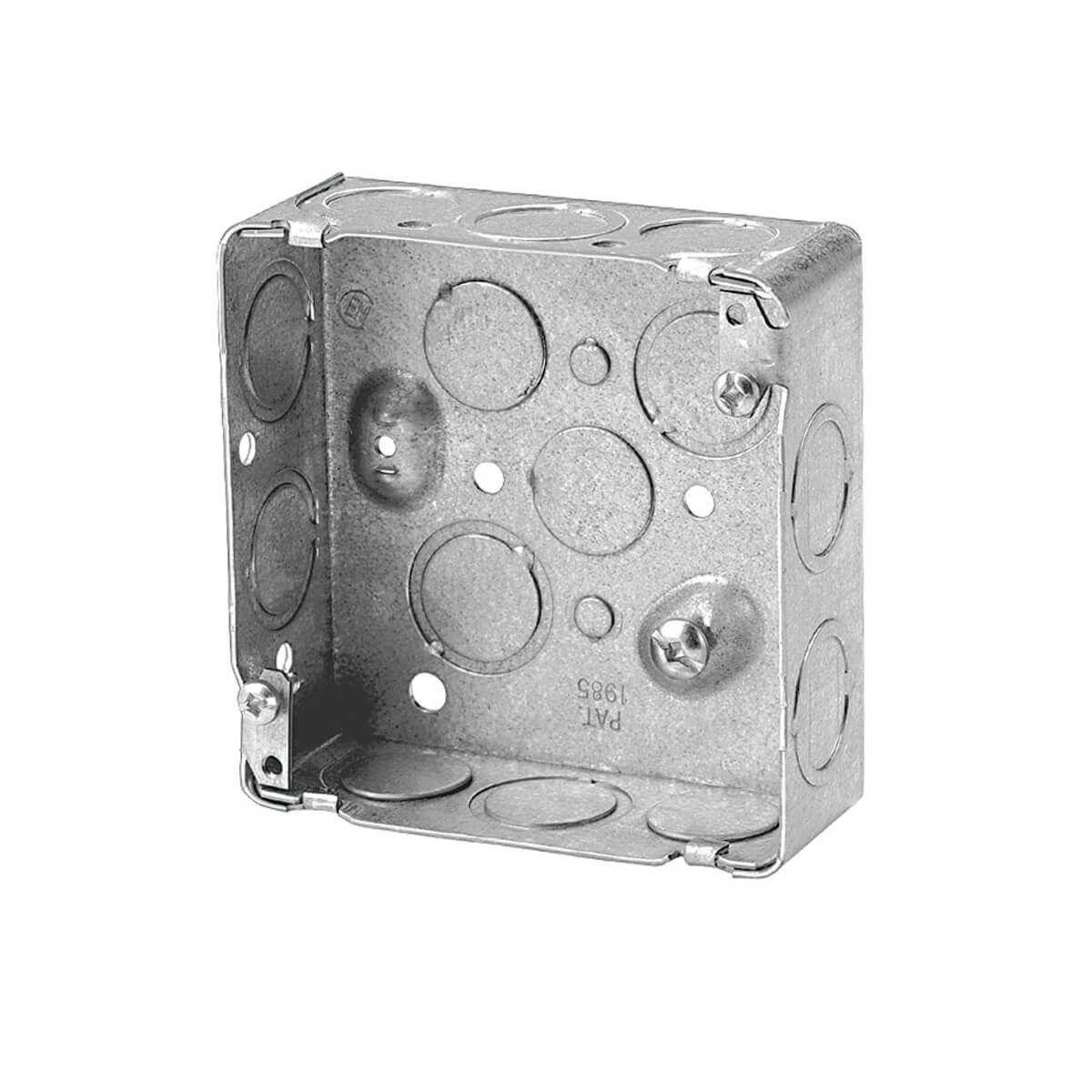 4-in Square Box 1-1/2-in Deep KO