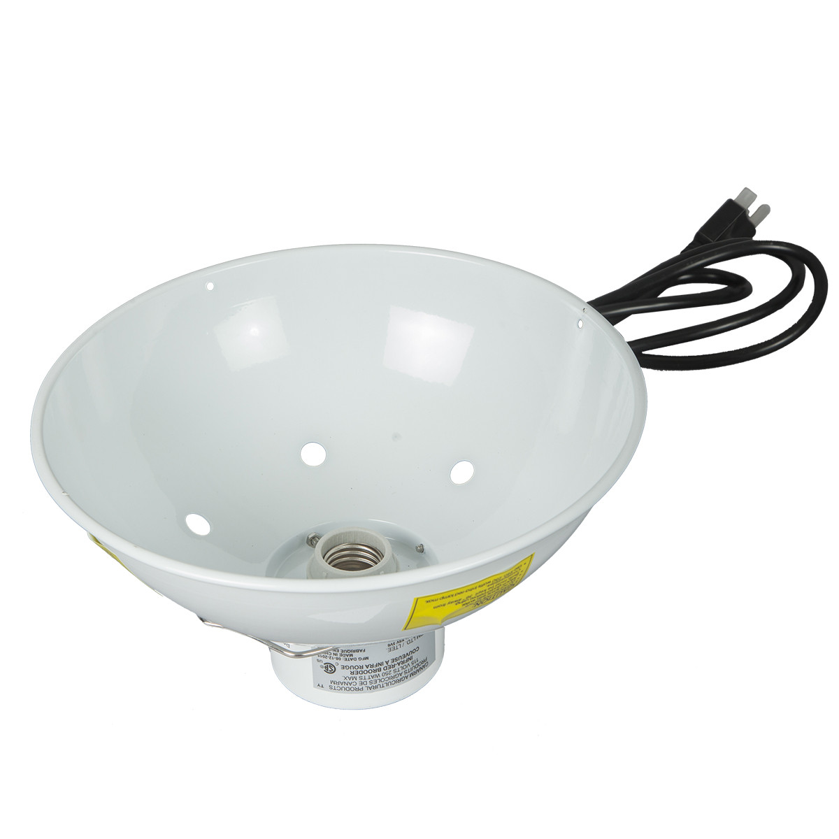 Brooder Lamp with Low Profile