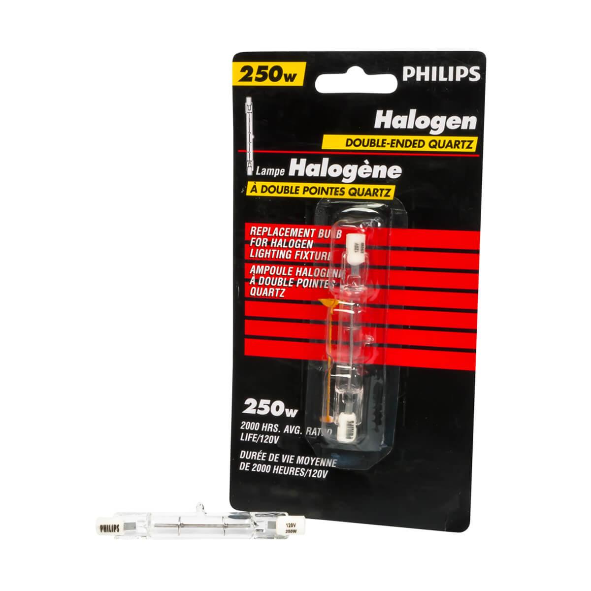 Philips Halogen 250W T3 Quartz 79 mm