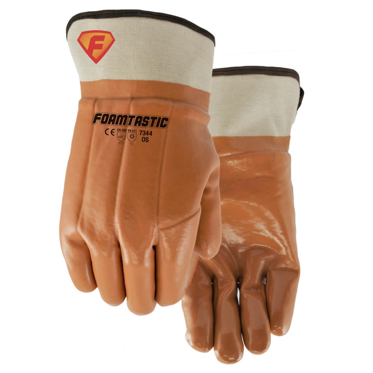 Foamtastic Rubber Monkey Grip Gloves