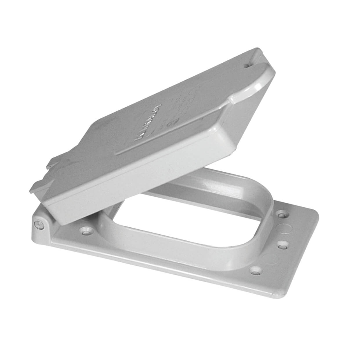 PVC F Series Weatherproof 1-Gang Toggle Switch Cover