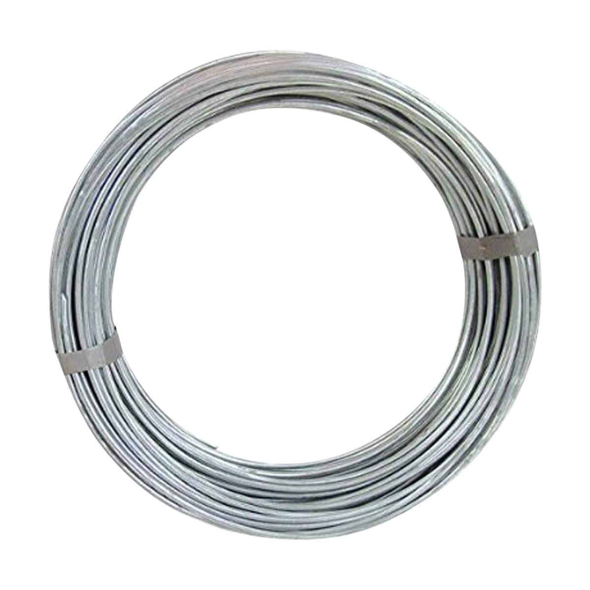 Galvanized Wire - 9GA / 50LB