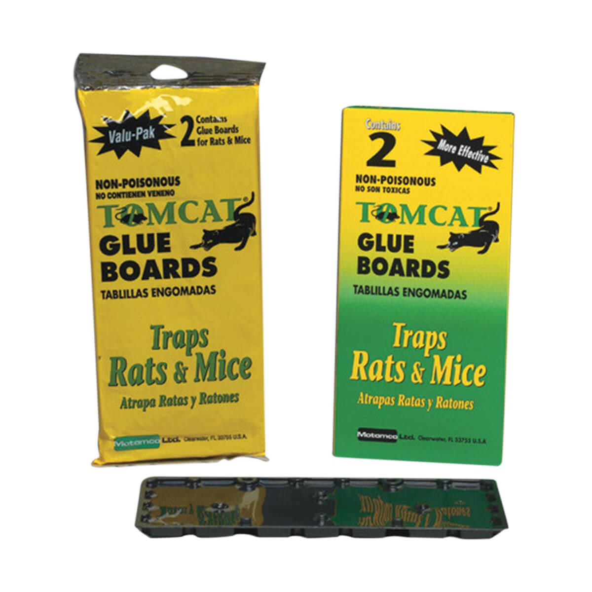 Tomcat Glue Boards - 2pack