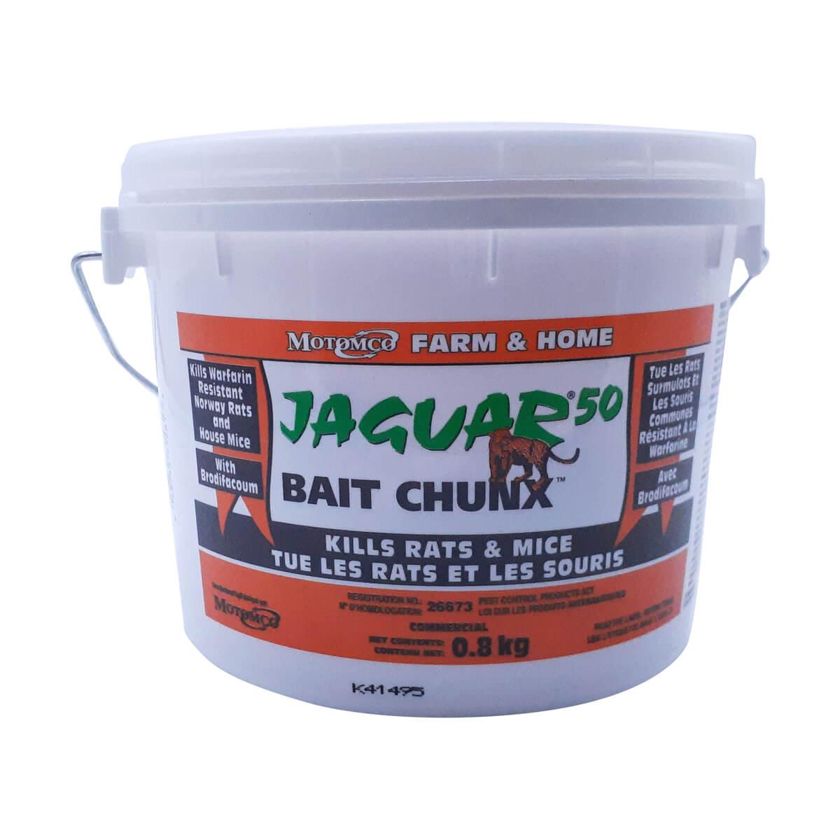 Jaguar Bait Chunx - 1.8 kg Pail