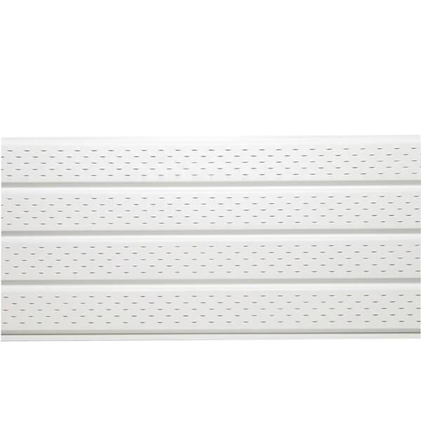 White Aluminum Soffit