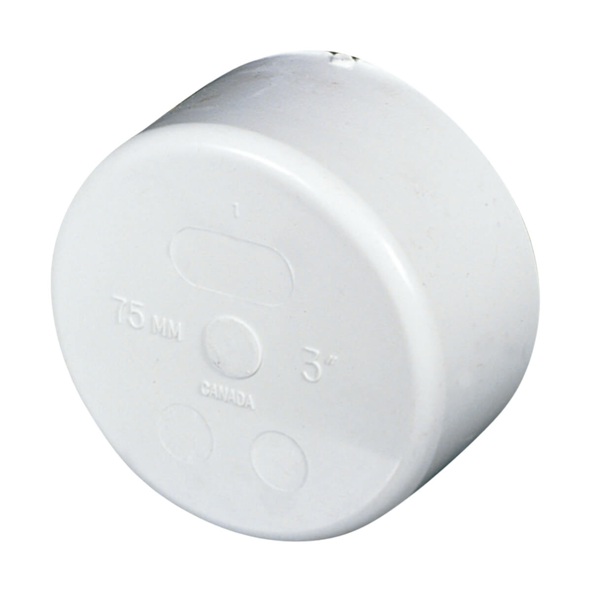 PVC-BDS Cap - Hub - 4-in