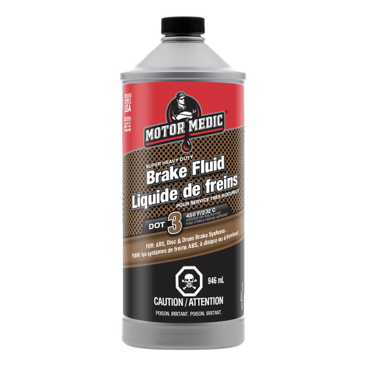 Motor Medic Synthetic Brake Fluid - 946 ml