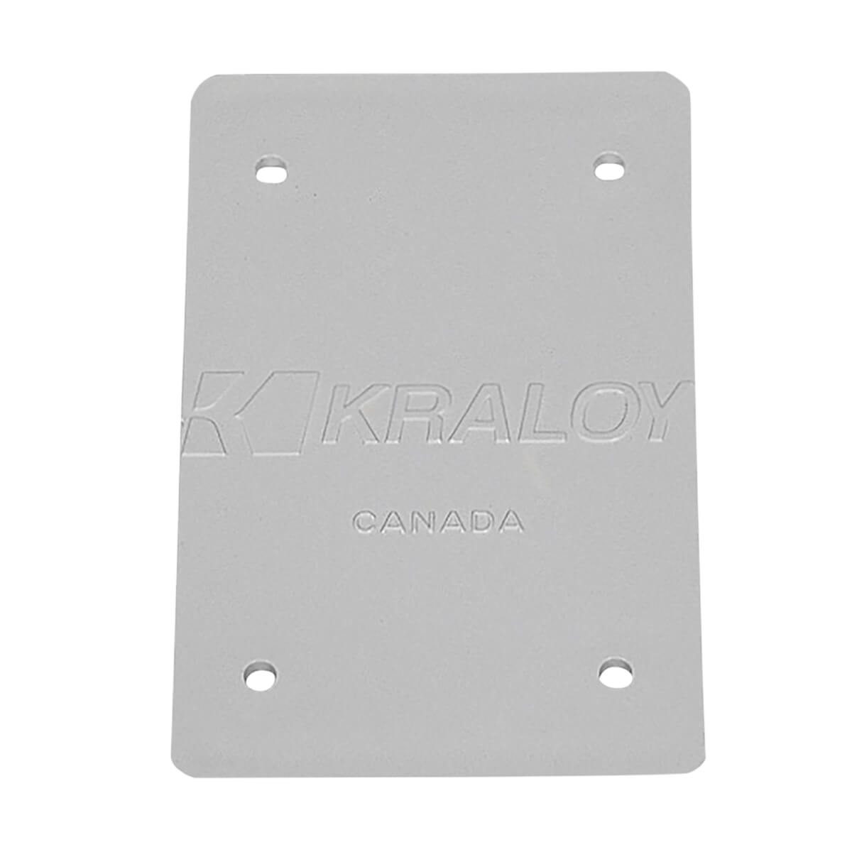 F-Series 1-Gang Blank Cover Plate