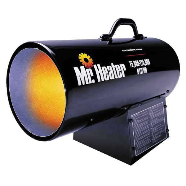 Mr. Heater Portable Forced Air Propane Heater 75,000 - 125,000 BTU/HR
