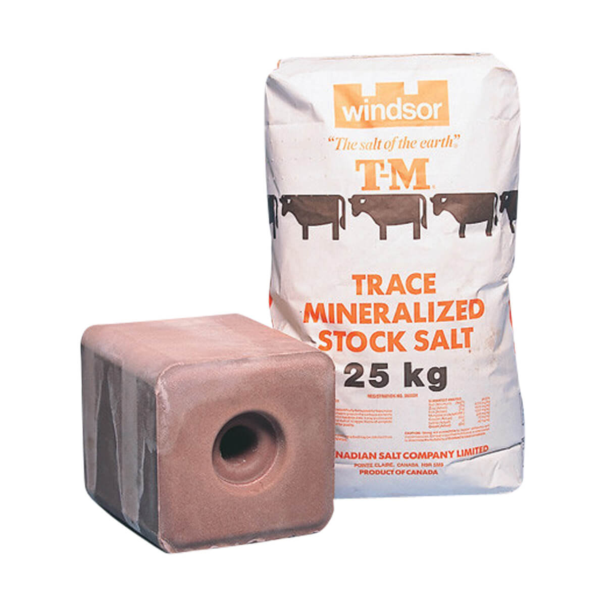 Trace Mineralized Stock Salt - Block - 20 kg