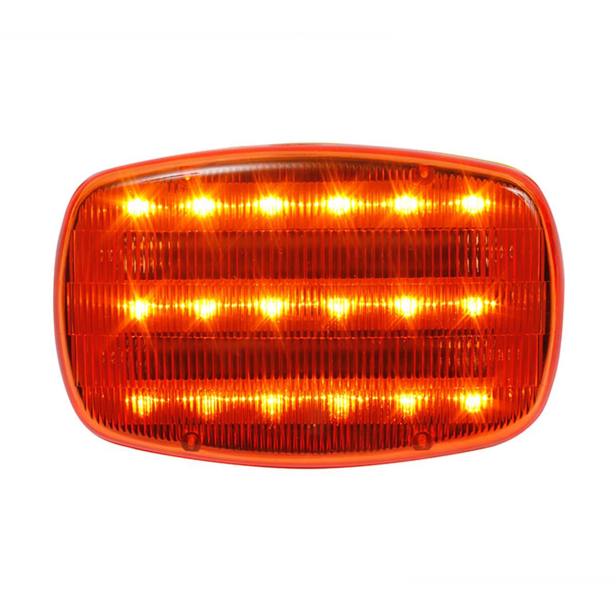 Amber LED Safety Flashers (18-pack)