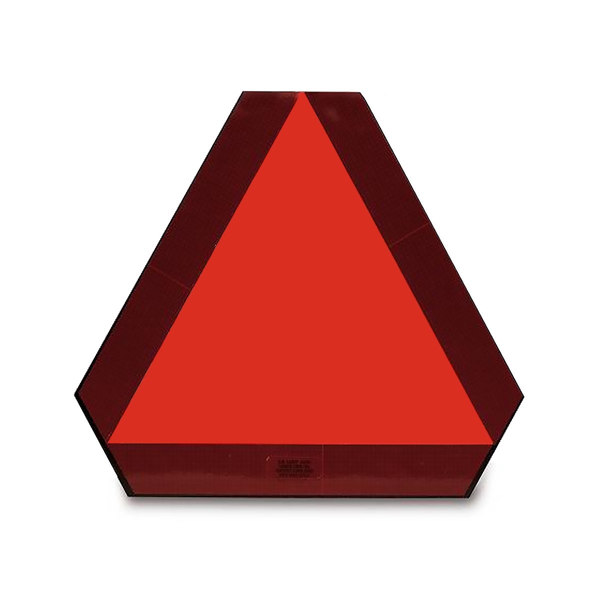 Adhesive Slow Moving Vehicle (SMV) Emblem