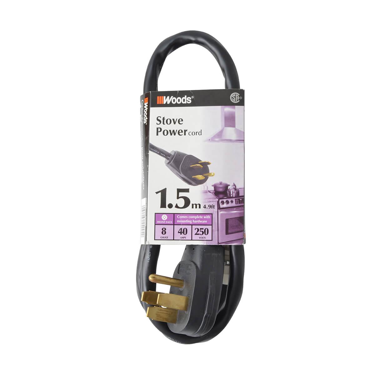 Stove Cord Kit - 10-8 AWG