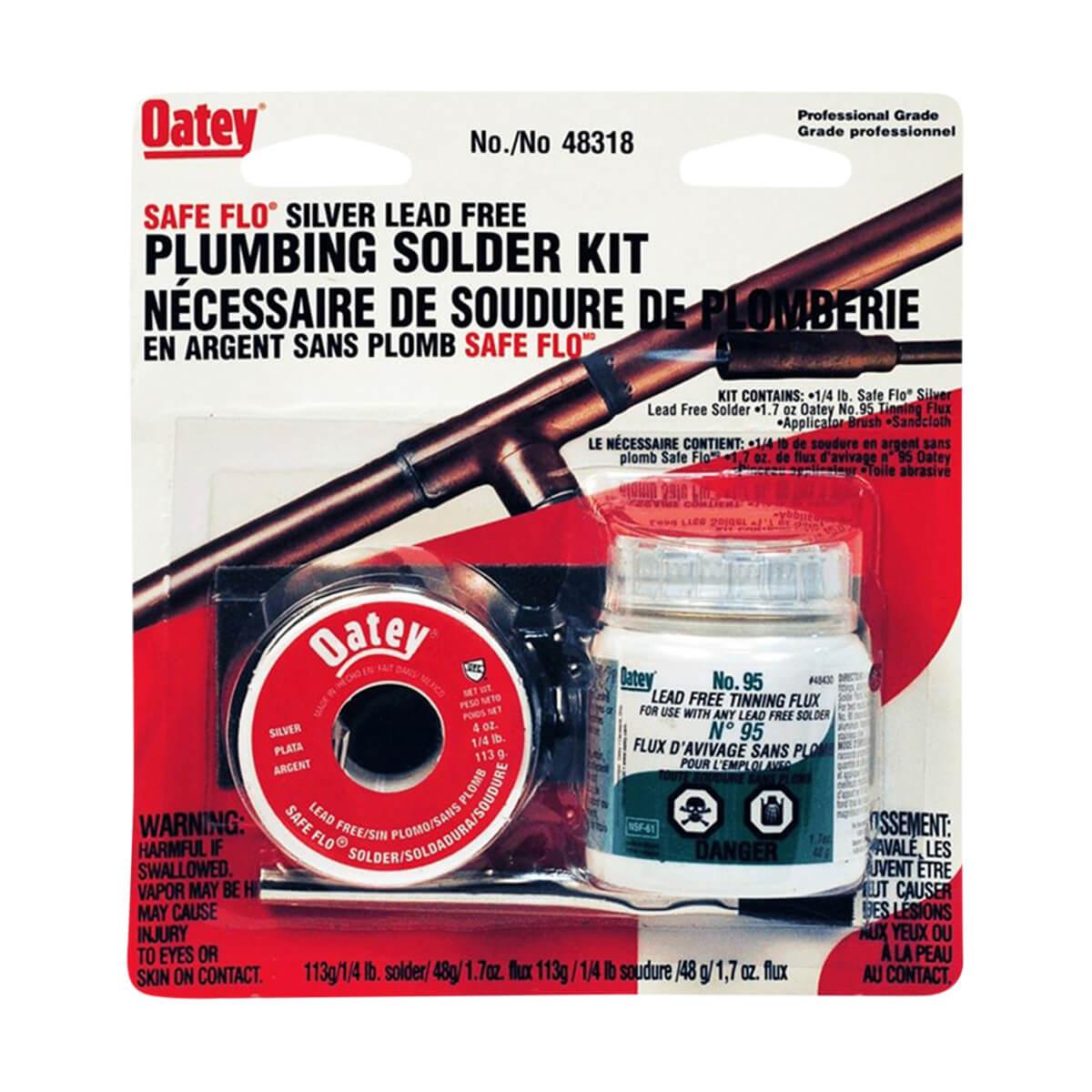 Oatey Lead Free Solder Kit with Dispenser