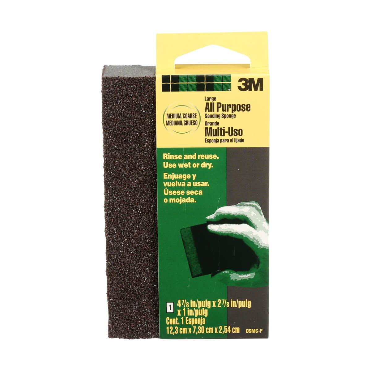 3M Large Area Sanding Sponge - Medium/Coarse Grit