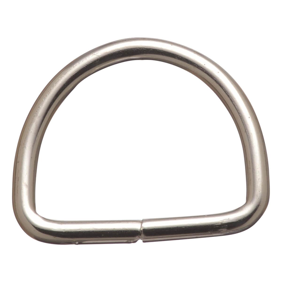Welded Dee - Heavy Nickel Plated Steel - 2-in