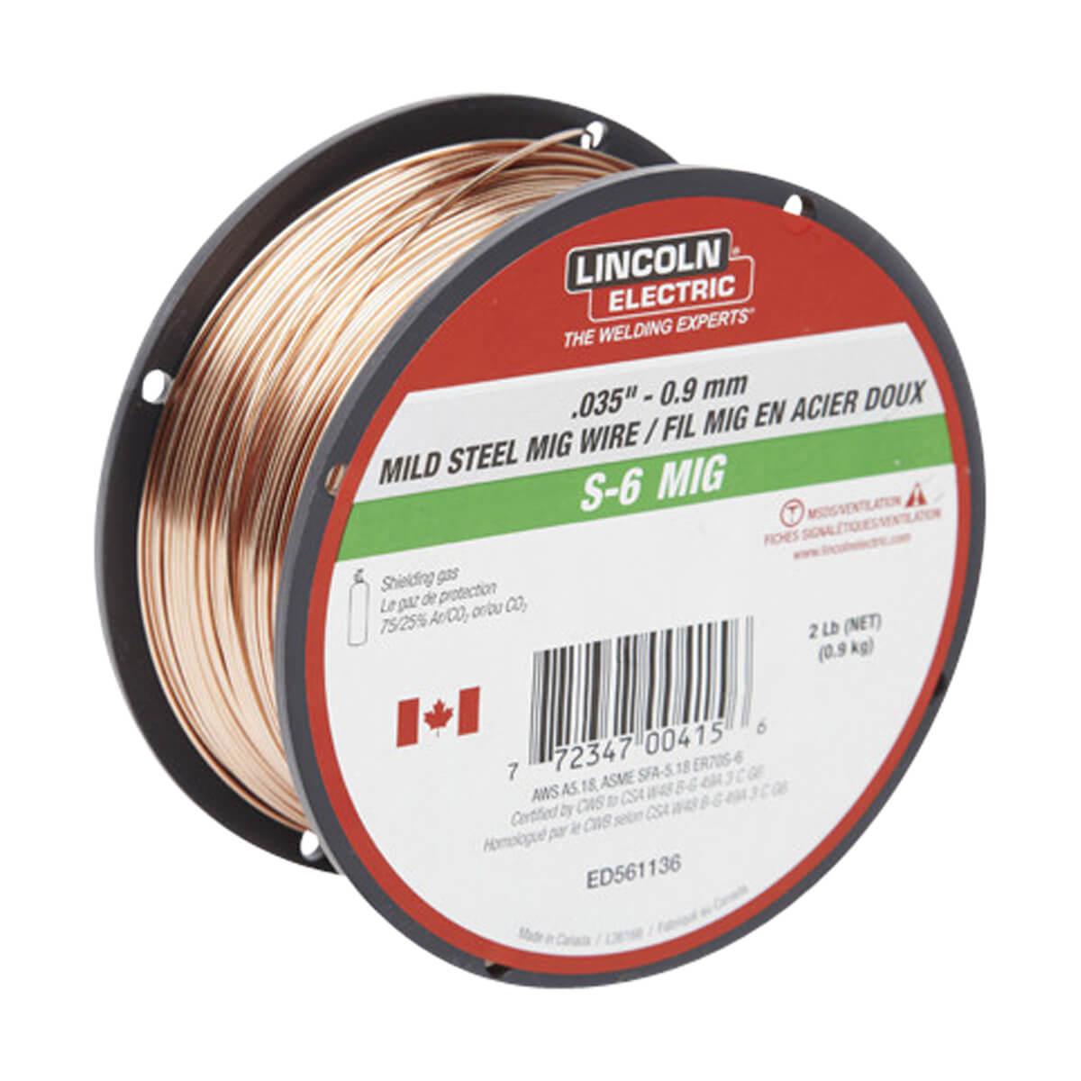 Lincoln Mig Wire STL -  .035 2 lb S-6