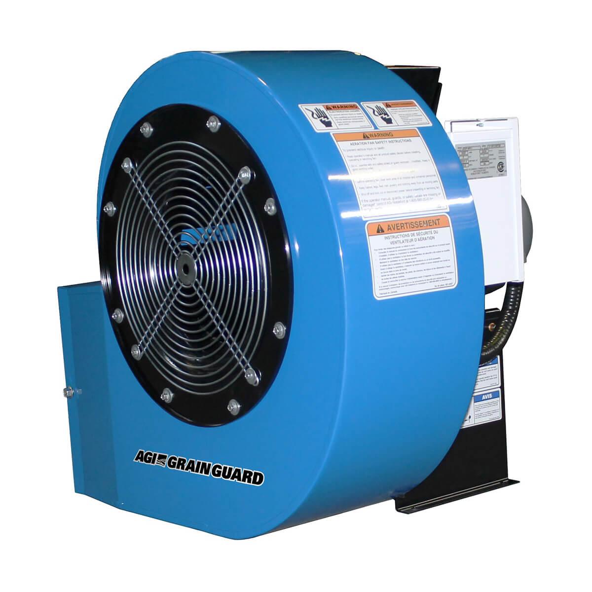 Grain Guard Grain Protection Centrifugal Fan - 5 hp- 230V