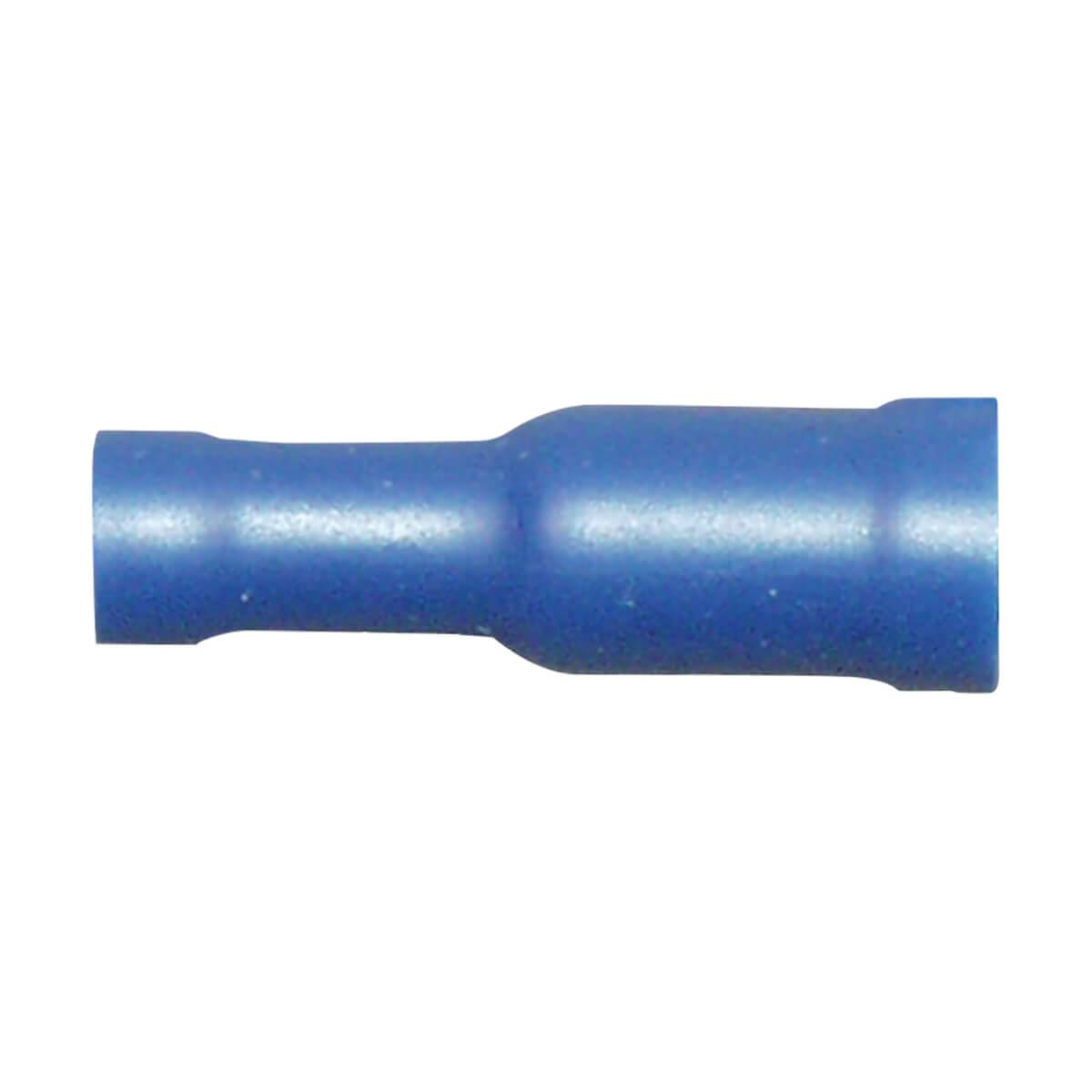 PVC Female Bullet Terminal 0.157 Stud - 16-14 Gauge - 10 Pack