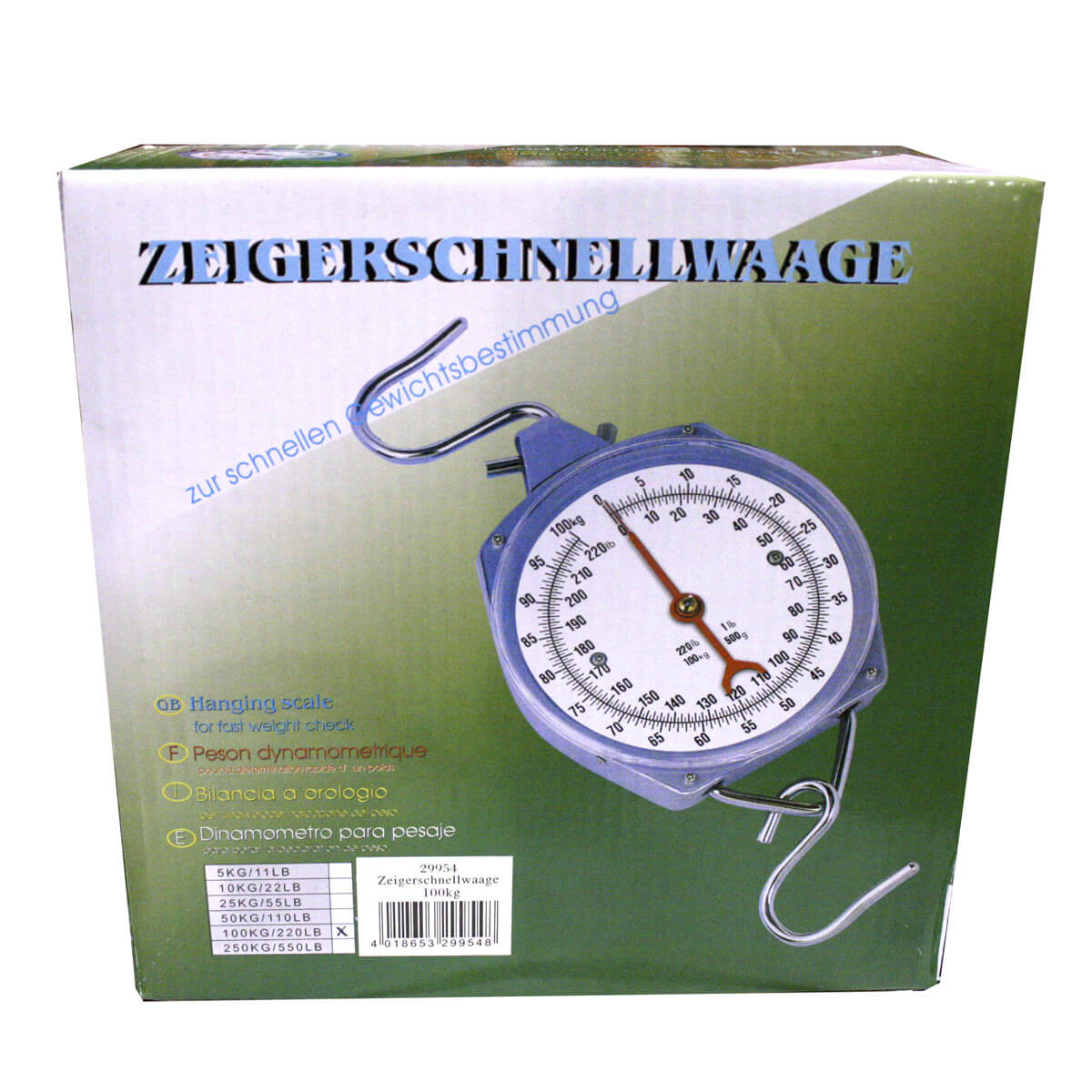 Hanging Dial Scale - 100kg