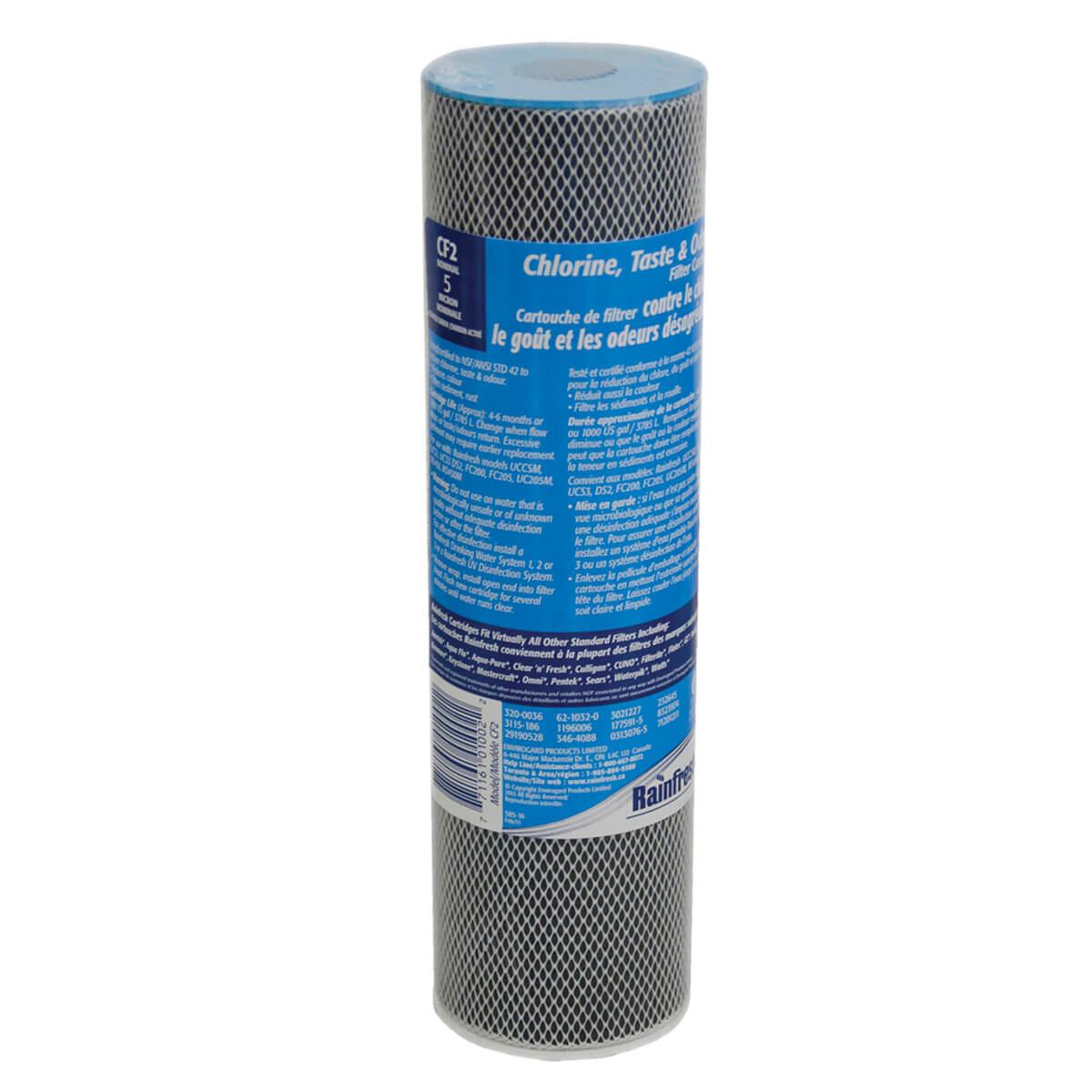 Rainfresh Chlorine Taste & Odour Filter Cartridge - CF2