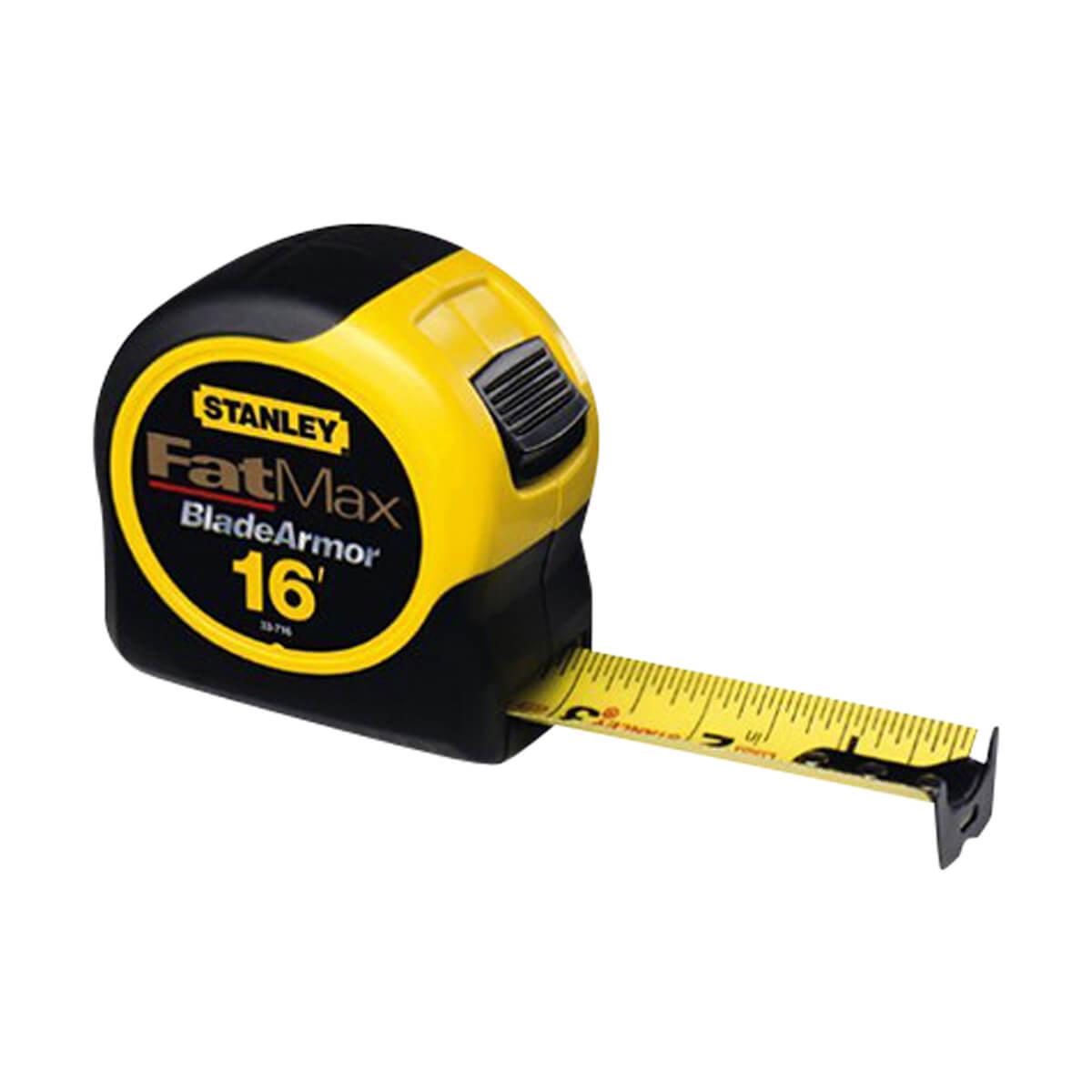 """Stanley 16' x 1-1/4"""" FatMax Tape Rule"""