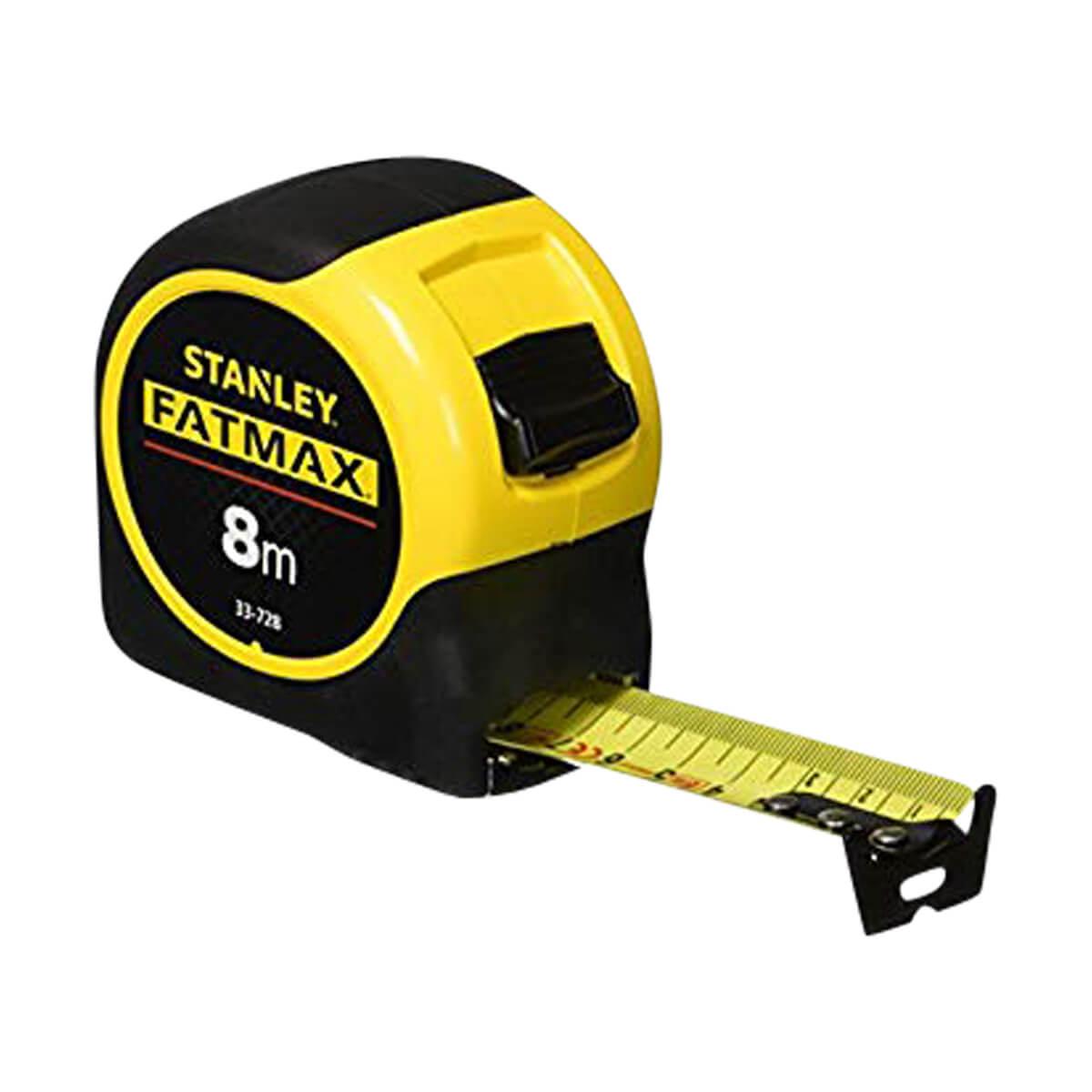 "Stanley 8m/26' x 1-1/4"" FatMax Metric/Fractional Tape Rule"