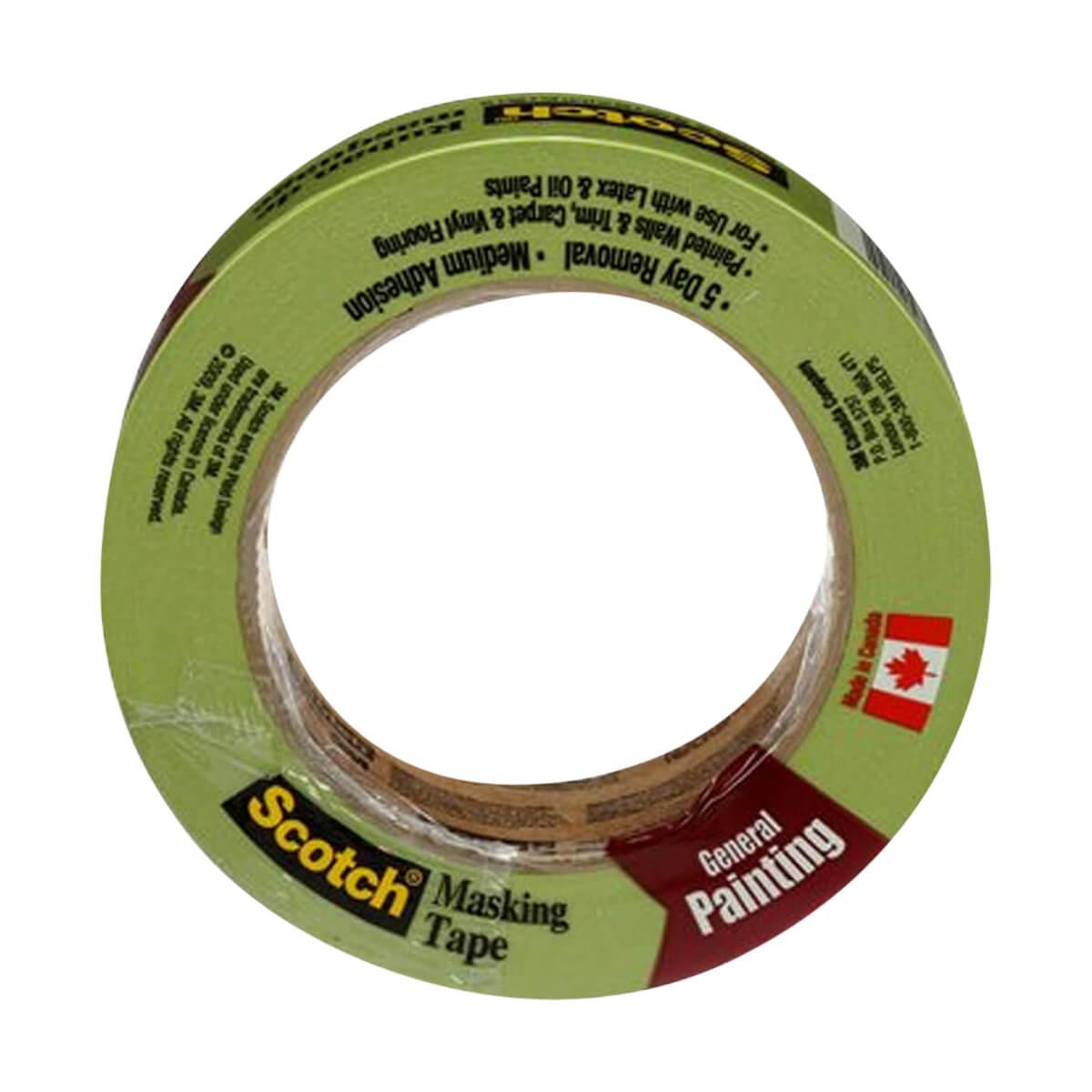 Scotch® General Painting Masking Tape -  24 mm x 55m