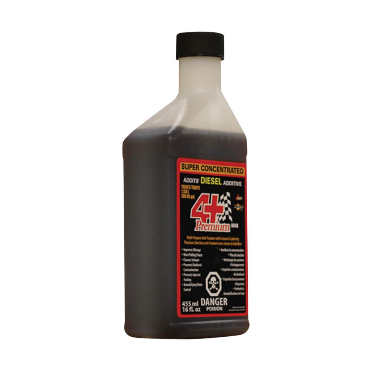 4+ Premium Fuel Additive - 455 mL
