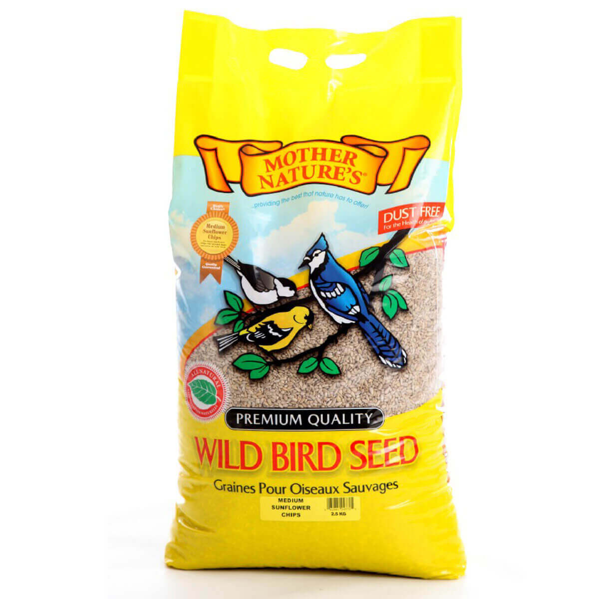 Mother Nature's Sunflower Chips - 2.5 kg