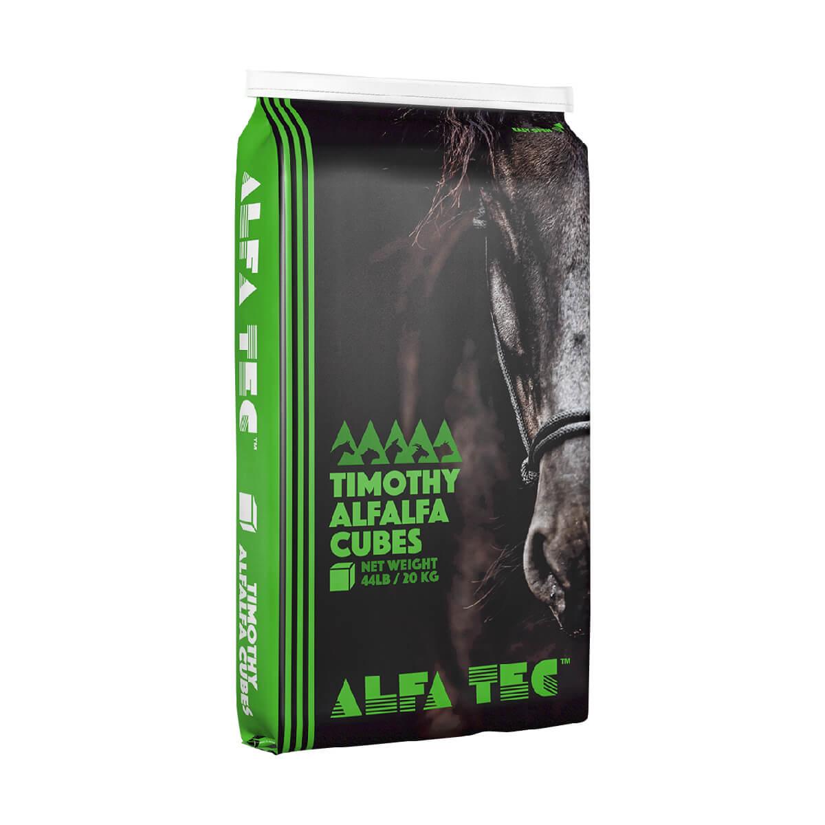 7/8-in Alfalfa/Grass Hay Cubes - 20 kg