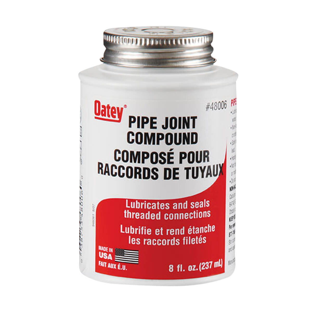 Oatey Grey Pipe Joint Compound - 237 ml