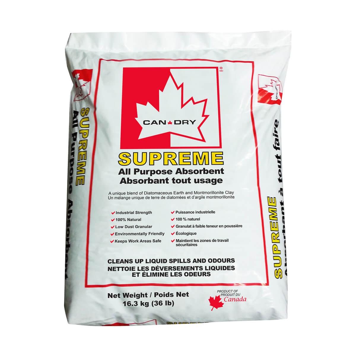 Supreme All Purpose Absorbent - 35 lb.