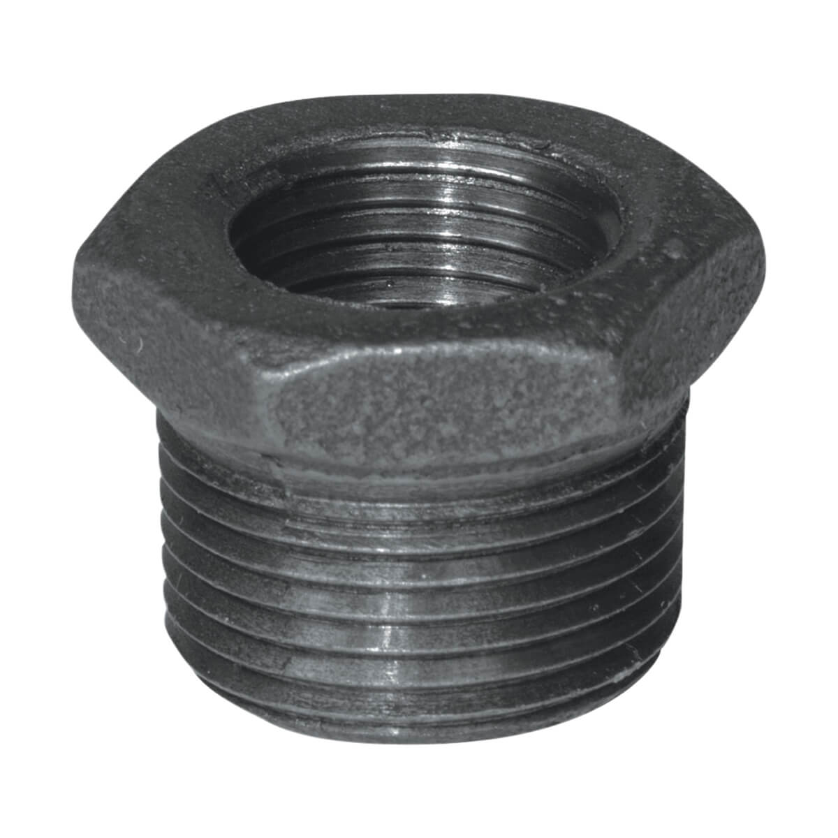 Fitting Black Iron Hex Bushing - 1-1/4-in x 1/2-in