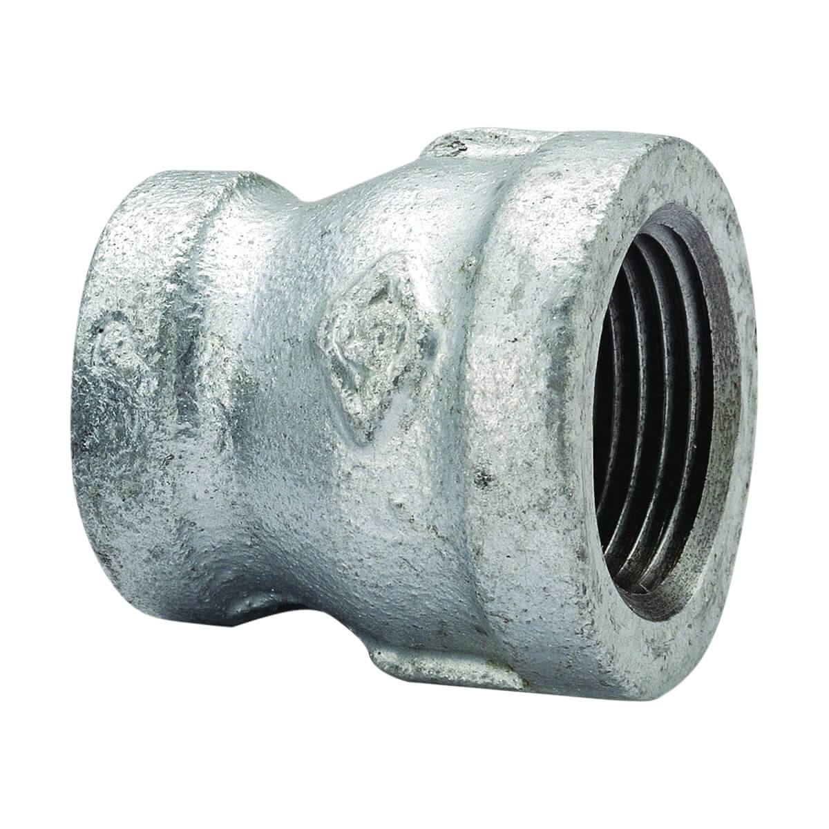 Galvanized Coupling Reducer - 3/8-in x 1/8-in