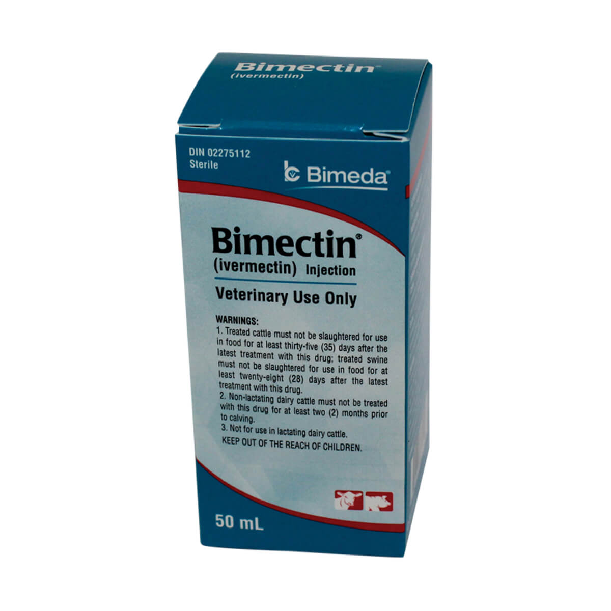 Bimectin Injectable Ivermectin - 50 ml