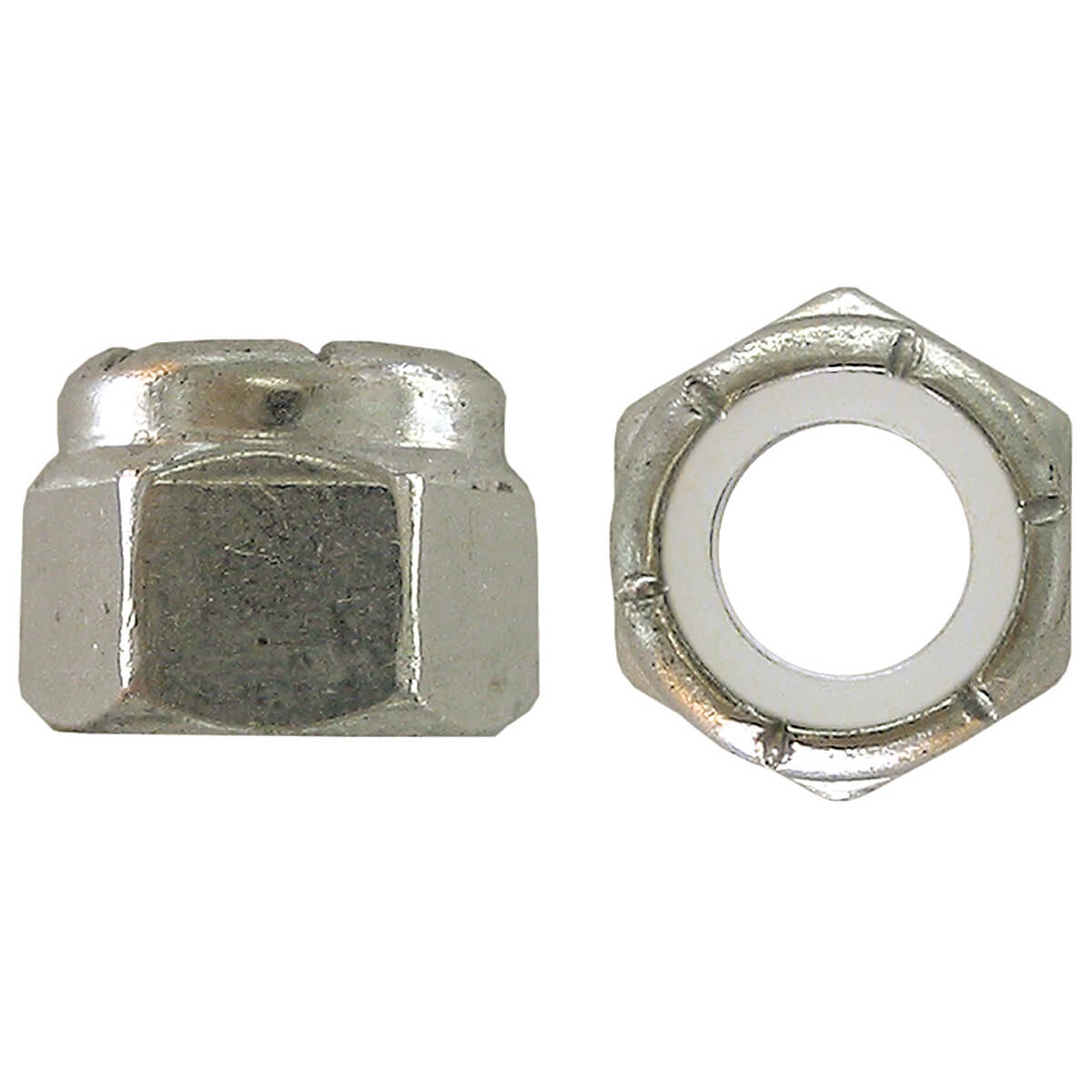 Nylon Insert Stop Nut-Pozi-Lok-Zinc Plated - 3/4-in-10 - 20 Piece