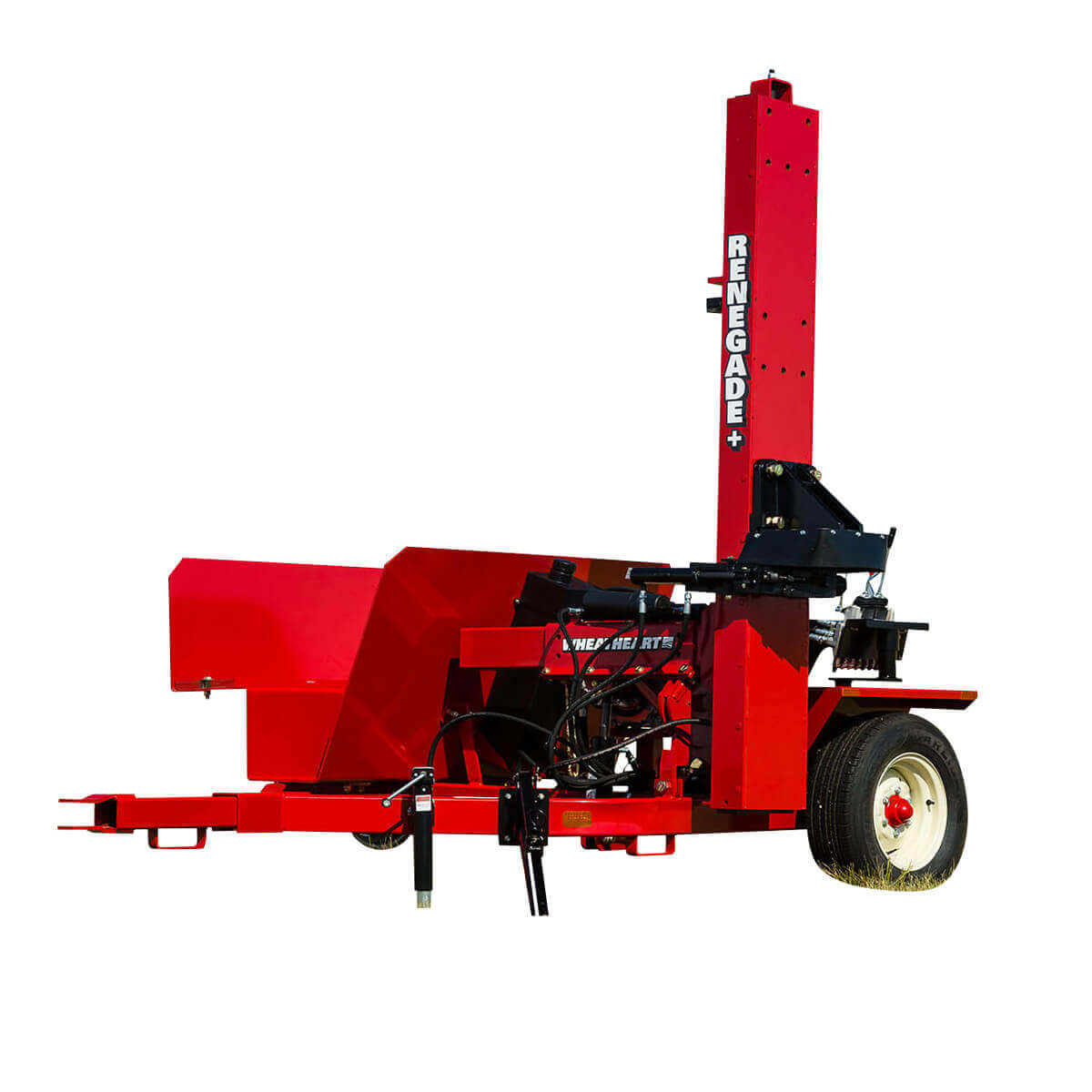 13hp Wheatheart Post Pounder