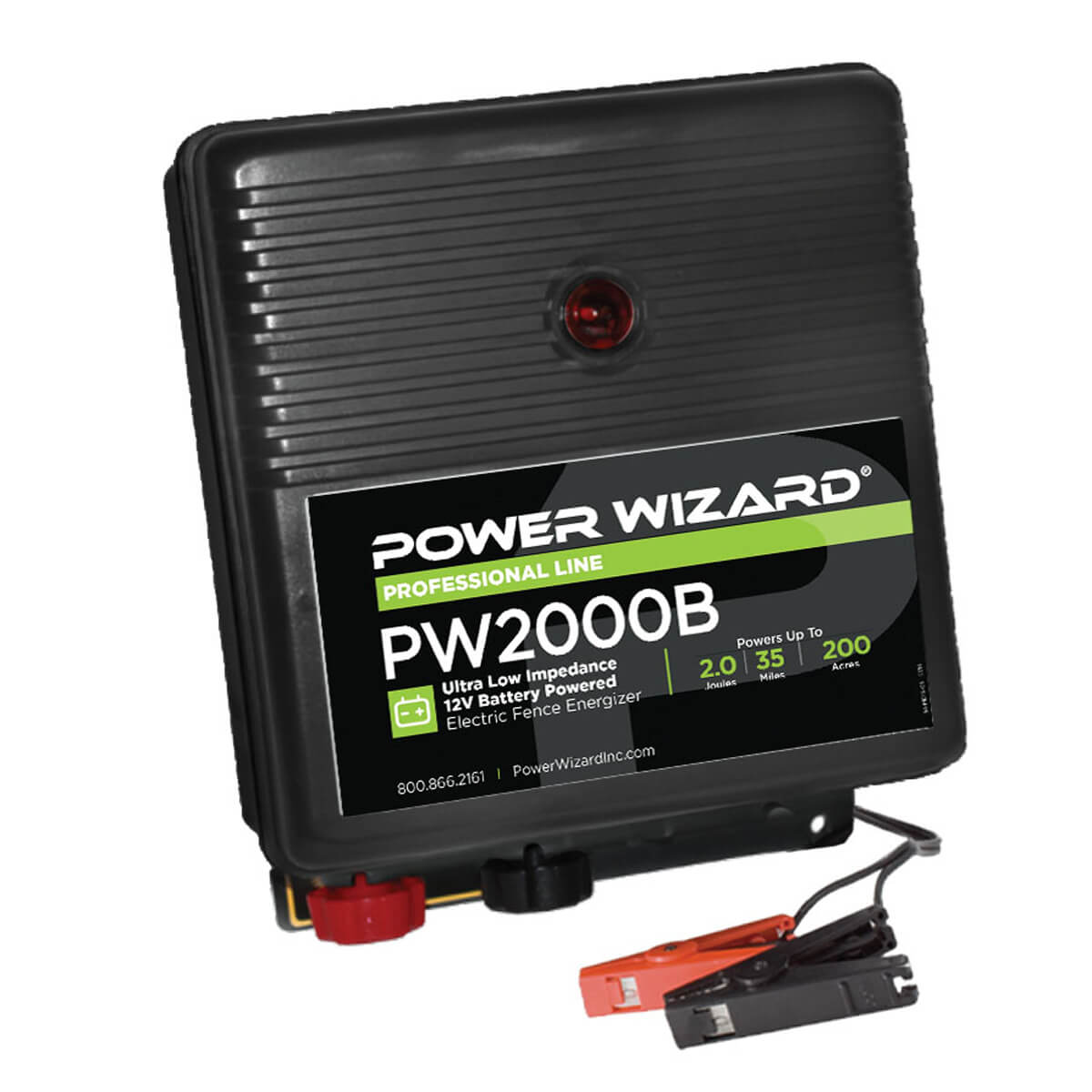 Power Wizard 12V Battery Powered Energizer