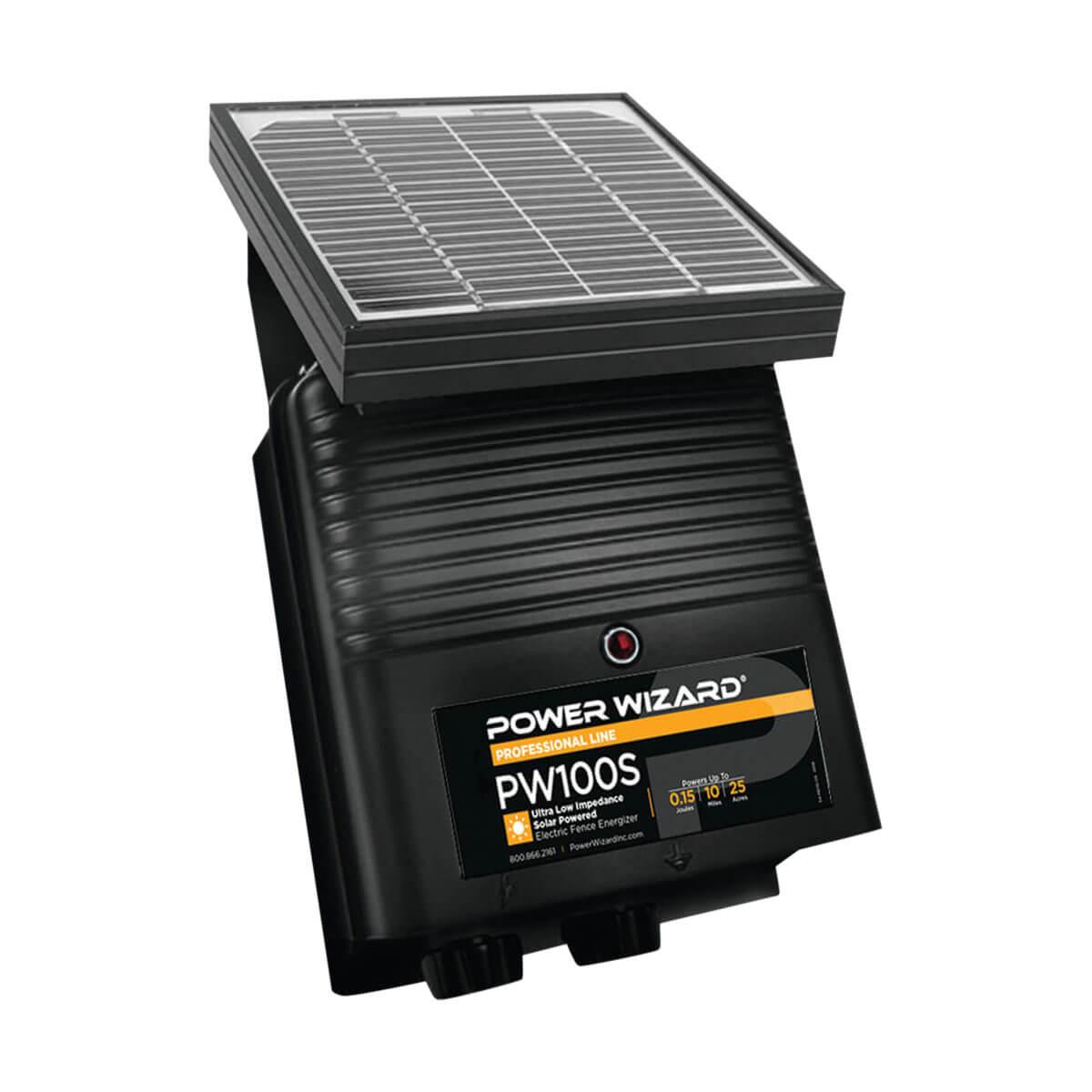 Power Wizard PW100S Solar Fence Energizer