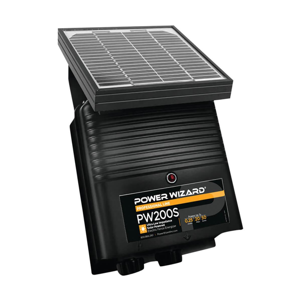 Power Wizard PW200S Solar Fence Energizer